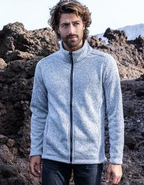 Mens Knit Fleece Jacket C+